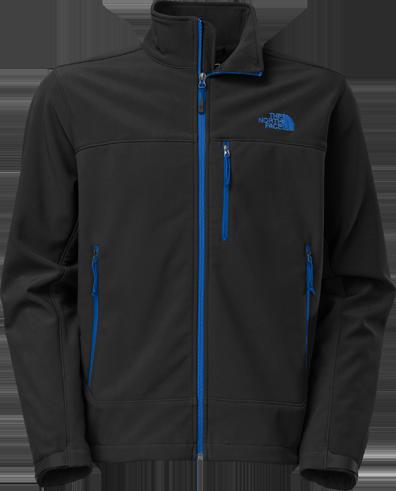 M apex bionic jacket black blue