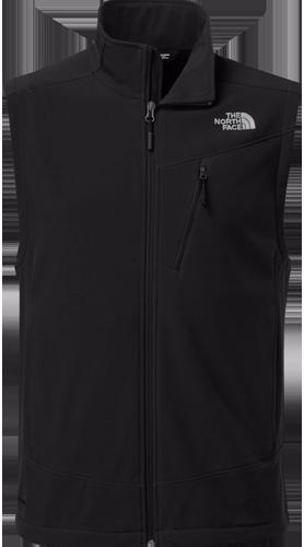 M apex shellrock vest tnf black