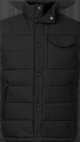 Patricks point vest black