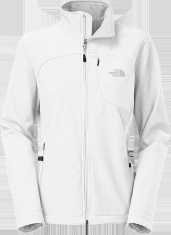W apex bionic jacket white