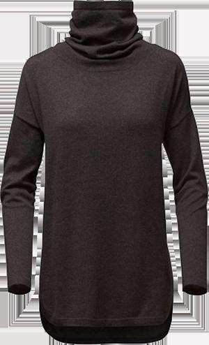 W woodland sweater tunic drkgyhtr