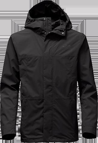 M folding travel jacket black