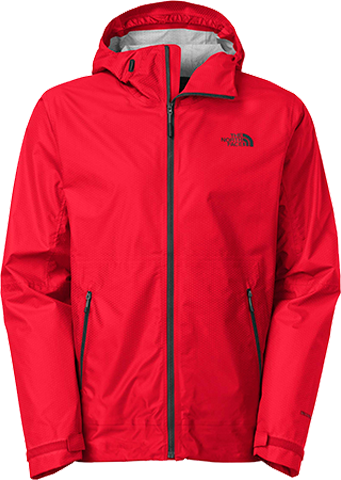 M fuseform dot matrix jacket red