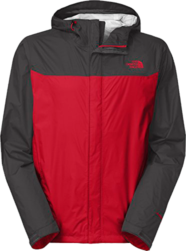 M venture jacket red grey