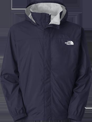Resolve jacket blue grey
